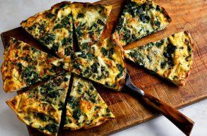 beet-greens-frittata