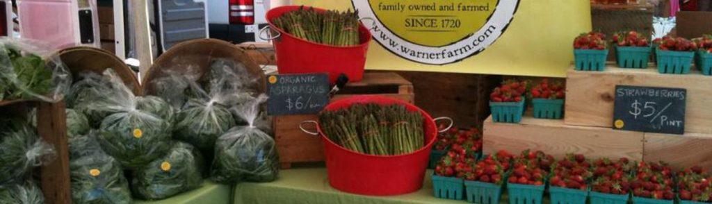 Warner Farm at farmers' markets
