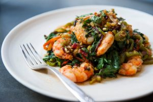 shrimp-and-chard