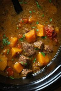 kabocha-stew